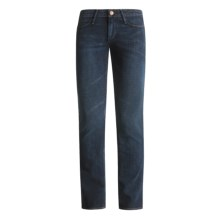Earnest Sewn Decca Dover Jeans - Low Rise (For Women) in Denim Blue - Closeouts