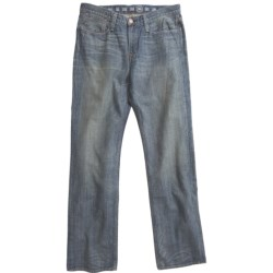 Earnest Sewn Fulton 220 Button-Fly Jeans - Straight Leg (For Men) in Morrissey
