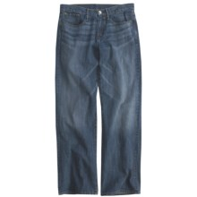 Earnest Sewn Loose Fit Jeans - Straight Leg (For Men) in Mid Blue - Closeouts