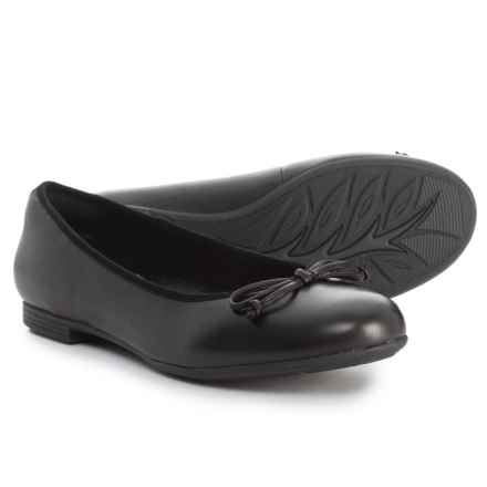 Earth Allegro Ballet Flats - Leather (For Women) in Black Leather - Closeouts