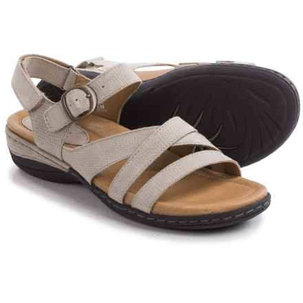 Earth Aster Sandals - Nubuck (For Women) in Taupe Nubuck - Closeouts