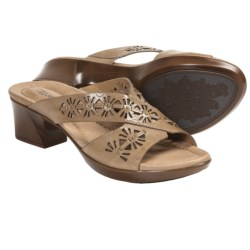 Earth Balsam Sandals - Leather (For Women) in Sand Calf