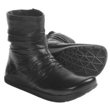 Earth Carling Ankle Boots - Leather (For Women) in Black - Closeouts