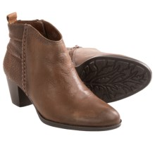Earth Cypress Ankle Boots - Leather (For Women) in Almond Leather - Closeouts
