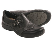 Earth Dogwood Shoes (For Women) in Black Calf Leather - Closeouts