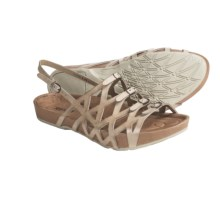 Earth Elegant Sandals - Leather (For Women) in Biscuit Calf - Closeouts