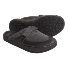 Earth Exer-Clogs - Leather (For Women) in Grey - Closeouts