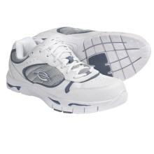 Earth Exer-Trainer Shoes - Leather (For Women) in White/Blue - Closeouts