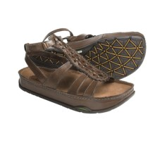 Earth Gladiola 2 Sandals (For Women) in Almond Calf - Closeouts