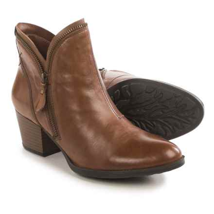 Earth Hawthorne Ankle Boots - Leather, Side Zip (For Women) in Almond Leather - Closeouts