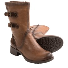 Earth Hemlock Boots - Leather (For Women) in Almond Leather - Closeouts