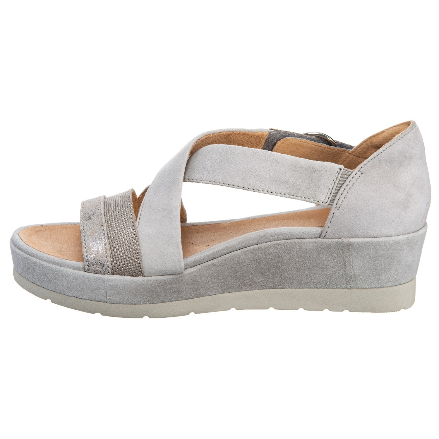 0d4233d715 Earth Hibiscus Wedge Sandals (For Women) - Save 25%