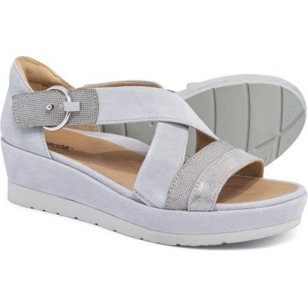 848eb8206f Earth Hibiscus X-Strap Sandals (For Women) in Light Grey