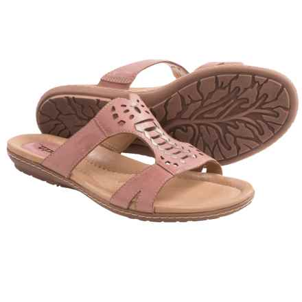 Earth Lagoon Leather Sandals (For Women) in Rosa Calf - Closeouts