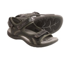 Earth Mango Sandals (For Women) in Black - Closeouts