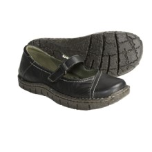 Earth Medley Mary Jane Shoes - Leather (For Women) in Black - Closeouts