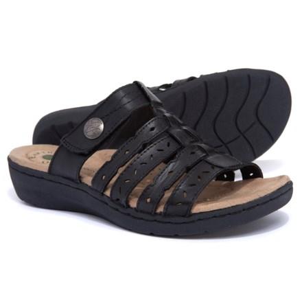 8376d00503d3 Earth Origins Alaina Comfort Slide Sandals (For Women) in Black