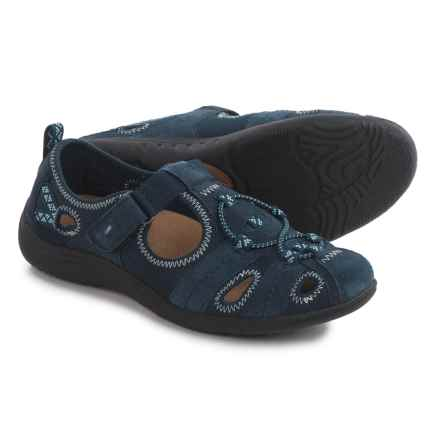 Earth Origins Carmen Shoes - Suede (For Women) in Navy - Closeouts