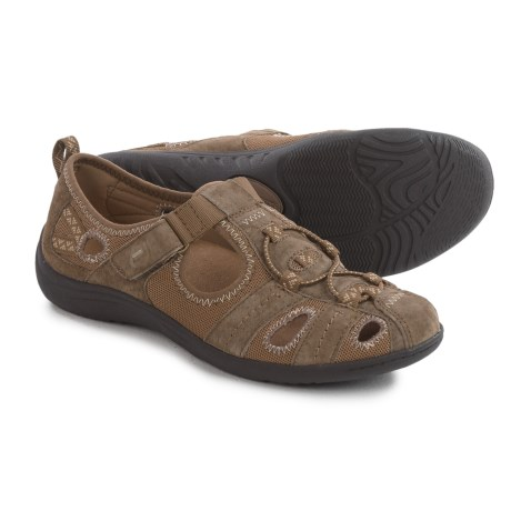 Earth Origins Carmen Shoes - Suede (For Women) in Sedona Brown