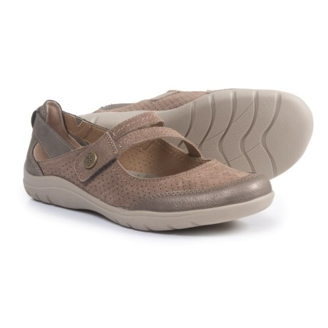 Earth Origins Comfort Mary Jane Shoes - Suede (For Women) in Dust