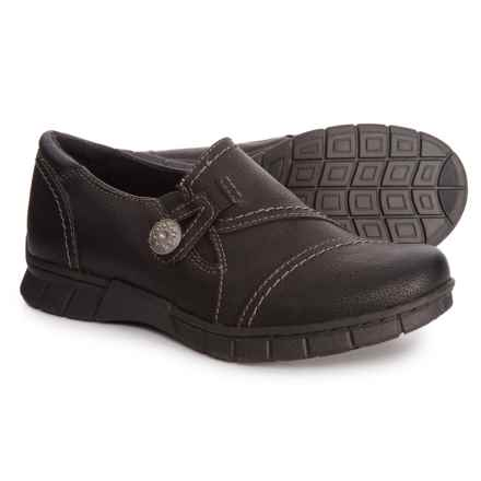 Earth Origins Nola Loafers (For Women) in Black