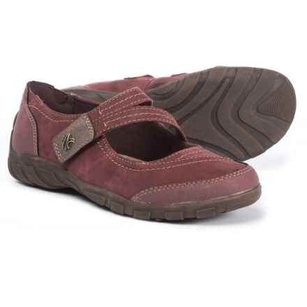 Earth Origins Rory Mary Jane Shoes - Leather (For Women) in Merlot - Closeouts