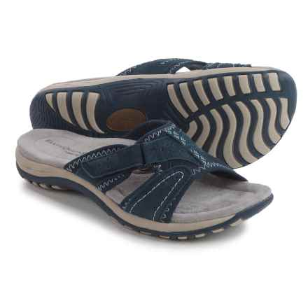 Earth Origins Sirena Sandals - Suede (For Women) in Navy - Closeouts