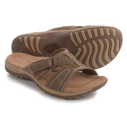 Earth Origins Sirena Sandals - Suede (For Women) in Sedona Brown - Closeouts