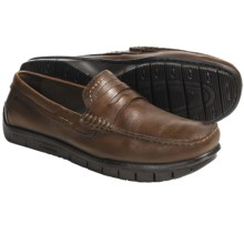 Earth Penn Loafer Shoes - Leather (For Men) in Almond - Closeouts
