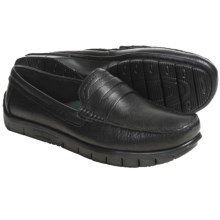 Earth Penn Loafer Shoes - Leather (For Men) in Black - Closeouts