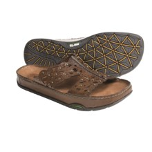 Earth Peony Sandals - Leather (For Women) in Almond Calf - Closeouts