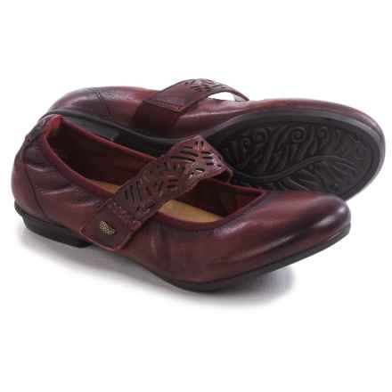 Earth Pilot Mary Jane Shoes - Leather (For Women) in Bordeaux Leather - Closeouts
