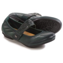 Earth Pilot Mary Jane Shoes - Leather (For Women) in Forest Green Leather - Closeouts