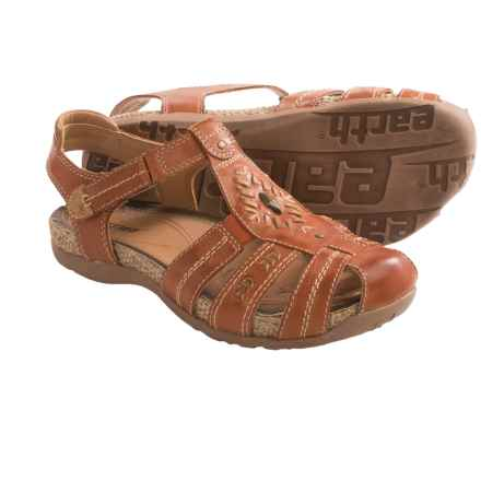 Earth Ramie Sandals - Leather (For Women) in Henna - Closeouts