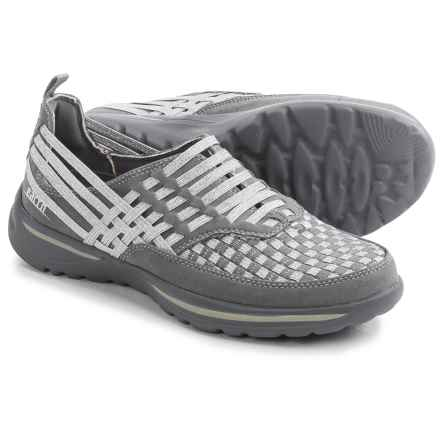 Earth Rapid Shoes - Slip-Ons (For Women) in Grey Multi - Closeouts