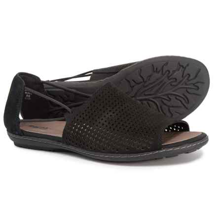 c7498d97b3c7 Earth Shelly One Band Sandals - Nubuck (For Women) in Black