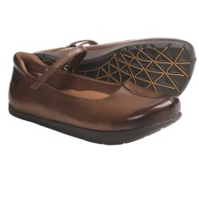 Earth Solar Mary Jane Shoes - Leather (For Women) in Almond Vintage Leather - Closeouts