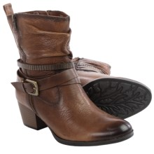 Earth Spruce Leather Boots (For Women) in Almond Leather - Closeouts