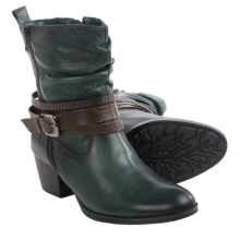Earth Spruce Leather Boots (For Women) in Forest Green Leather - Closeouts