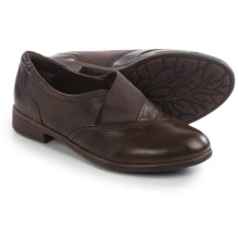 Earth Stratton Shoes - Leather, Slip-Ons (For Women) in Bark Leather - Closeouts