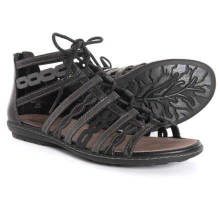 8150da018815 Earth Tidal Lace-Up Gladiator Sandals - Leather (For Women) in Black Multi