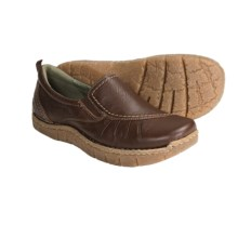 Earth Union Slip-On Shoes - Leather (For Women) in Almond - Closeouts