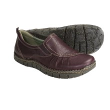 Earth Union Slip-On Shoes - Leather (For Women) in Plum - Closeouts