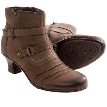 Earth Wayward Ankle Boots (For Women) in Bark Nubuck - Closeouts