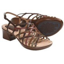 Earth Wisteria Sandals - Leather (For Women) in Bat Multi Calf - Closeouts