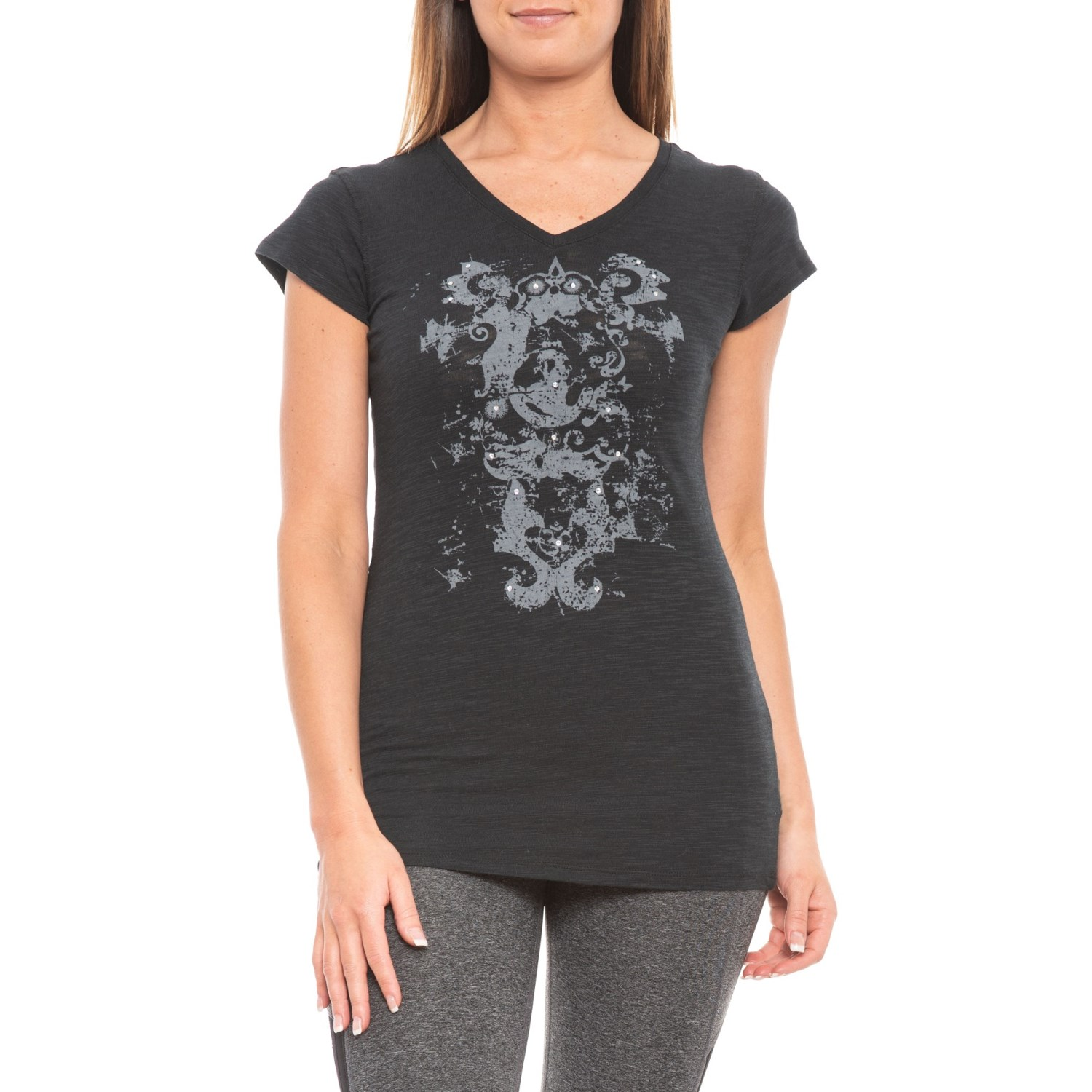 Earth Yoga Flow Of Life T-Shirt (For Women)