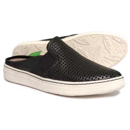 4fd6a0c37 Earth Zest Slide Sandals - Leather (For Women) in Black