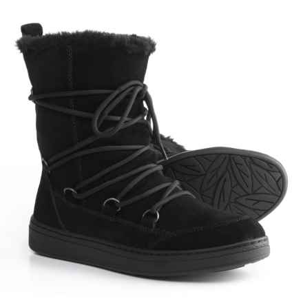 Earth Zodiac Boots - Suede (For Women) in Black - Closeouts