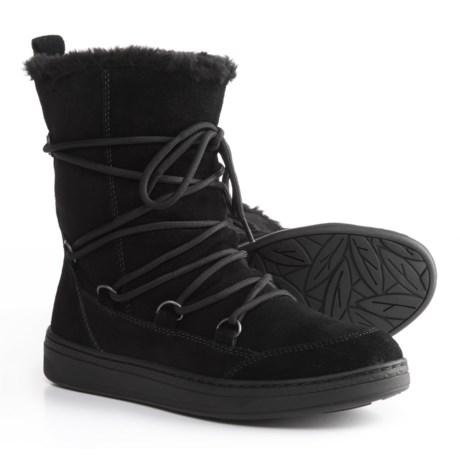 Earth Zodiac Boots - Suede (For Women) in Black