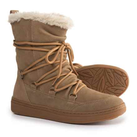 Earth Zodiac Boots - Suede (For Women) in Light Tan - Closeouts